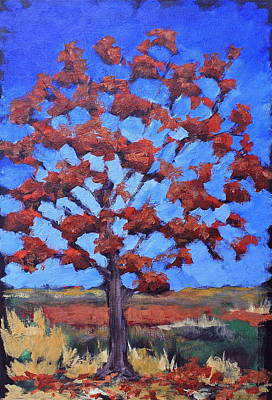Red Maple Art Print by Lisa Masters