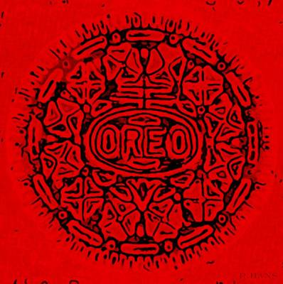 Photograph - Red Oreo by Rob Hans