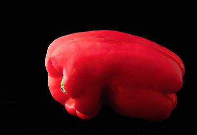 Photograph - Red Pepper by Jean Noren