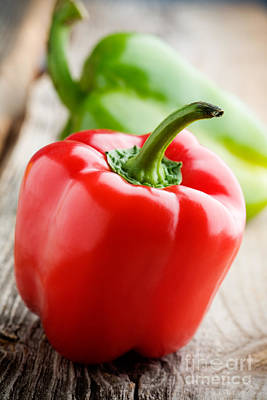 Photograph - Red Pepper by Kati Finell