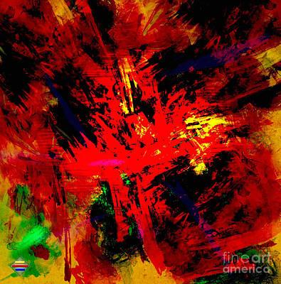 Red Planet Art Print by Vidka Art