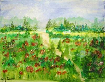Painting - Red Poppies by Kelly Turner