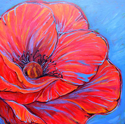 Painting - Red Poppy by Jenn Cunningham