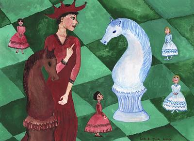 Red Queen To The Rescue Original by Sushila Burgess