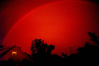 Photograph - Red Rainbow by Rod Jones