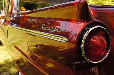 Photograph - Red Ranchero And Round Taillight by Mick Anderson