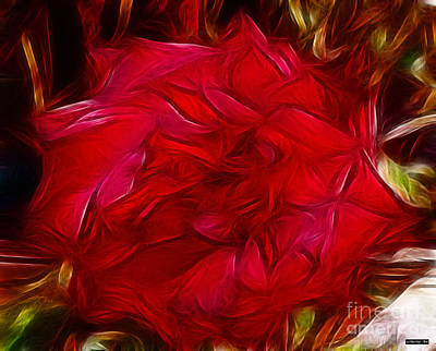Painting - Red Red Rose by Methune Hively
