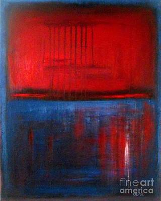 Red Reflection Original by Vesna Antic