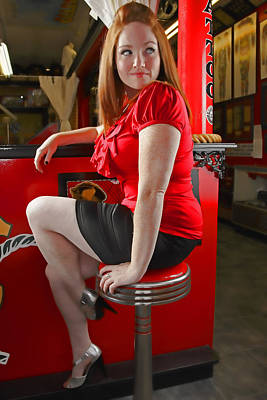 Redheads Photograph - Red by Rick Berk