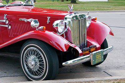 Red Roadster Original
