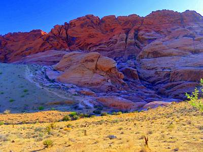 Photograph - Red Rock Canyon 1 by Randall Weidner