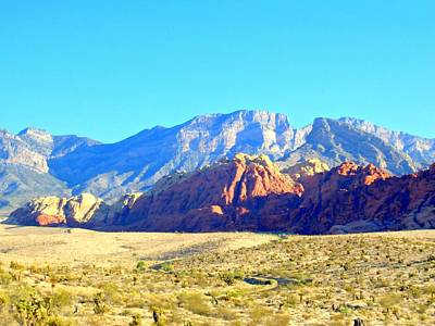 Red Rock Canyon 12 Art Print by Randall Weidner