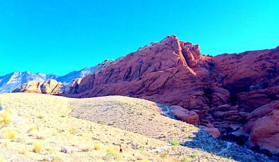 Red Rock Canyon 3 Art Print