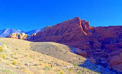 Photograph - Red Rock Canyon 4 by Randall Weidner