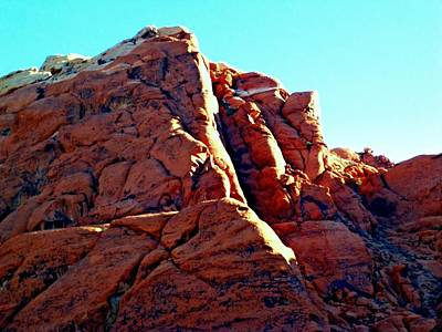 Photograph - Red Rock Canyon 5 by Randall Weidner