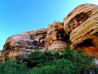 Nature Painting - Red Rock Canyon 56 by Randall Weidner