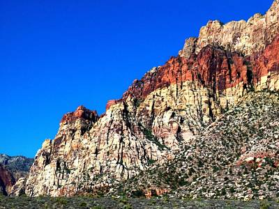 Red Rock Canyon 65 Art Print by Randall Weidner