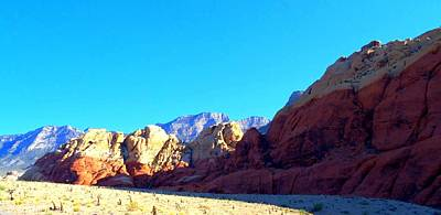 Photograph - Red Rock Canyon 7 by Randall Weidner