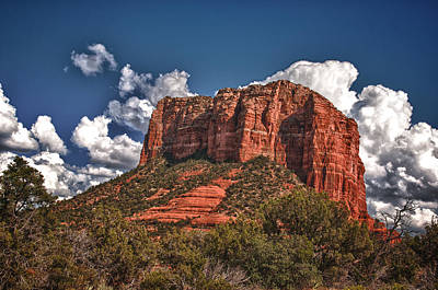 Red Rock Country Sedona Az Art Print by James Bethanis