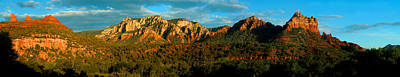 Photograph - Red Rock Panoramic by Anthony Citro