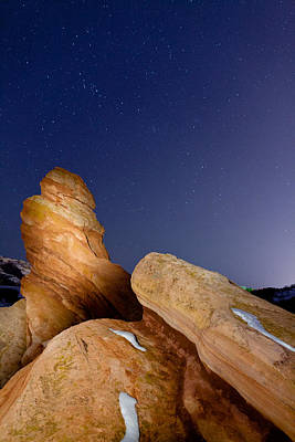 Photograph - Red Rock Stars by Adam Pender