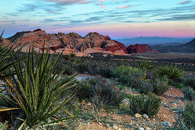 Red Rock Sunset II Art Print