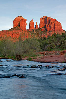 Cathedral Rock Photograph - Red Rock Sunset by Sandy Sisti