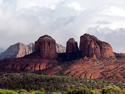 Photograph - Red Rock View by Judy Wanamaker