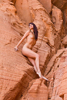 Photograph - Red Rocks - Melissa by Joel Gilgoff