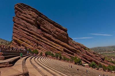 Red Rocks Amphitheater Art Print by Jason Turuc