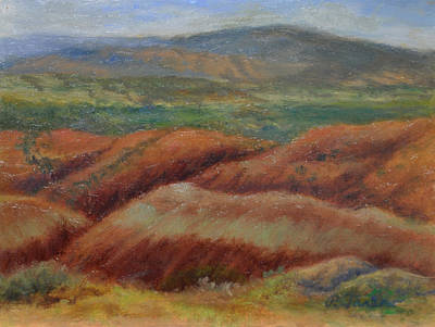 Abiquiu Painting - Red Rocks At Abiquiu by Phyllis Tarlow