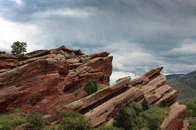 Photograph - Red Rocks Evening by James Woody