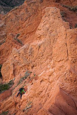 Landscape Photograph - Red Rocks by Konstantin Dikovsky