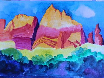 Red Rocks Of Sedona Art Print