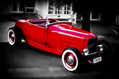 Red Rod Art Print by Phil 'motography' Clark