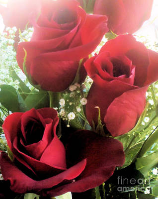 Photograph - Red Roses by Tammy Herrin
