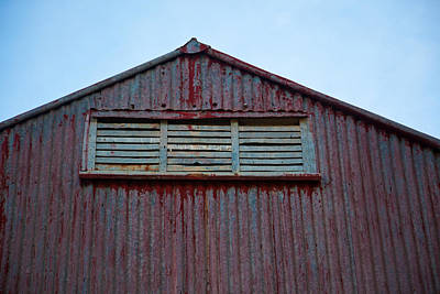 Photograph - Red Shed by Carole Hinding