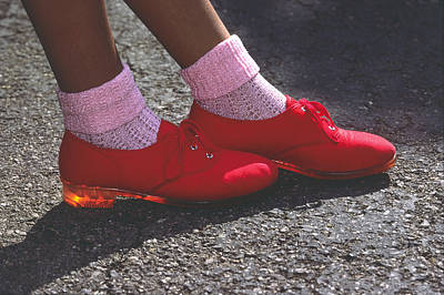 Photograph - Red Shoes by Mark Greenberg