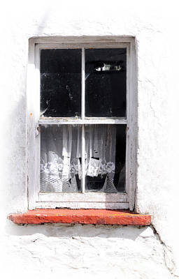 Red Sill Print by Marion Galt