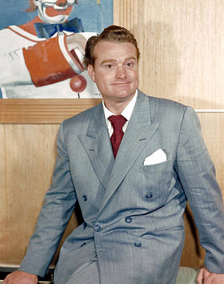 Red Skelton Photograph - Red Skelton, 1940s by Everett
