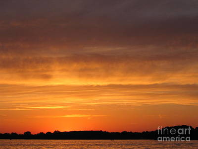 Photograph - Red Skies At Night by Jack G  Brauer