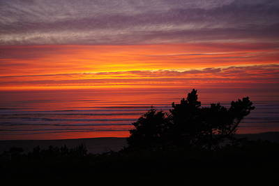 Photograph - Red Sky At Night Sailors Delight by Angi Parks