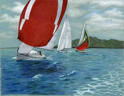 Red Spinnaker Original