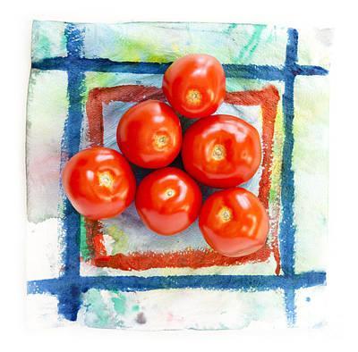 Red Tomatoes  Art Print by Igor Kislev