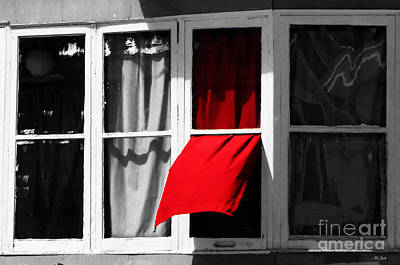 Photograph - Red Wave by Ms Judi
