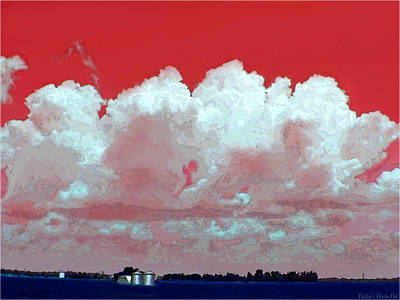 Photograph - Red White And Blue Farm by Debbie Portwood