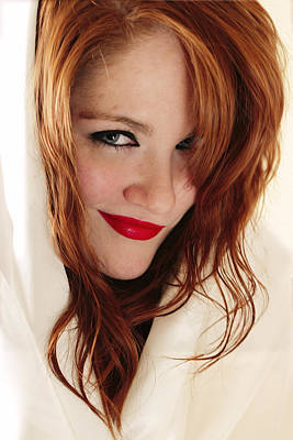 Redheads Photograph - Red White And Blue by Rick Berk