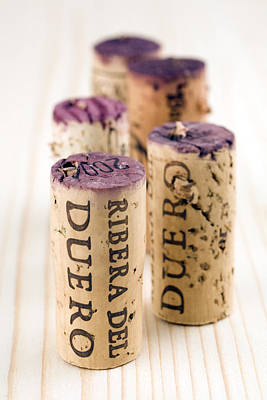 Red Wine Corks From Ribera Del Duero Art Print by Frank Tschakert