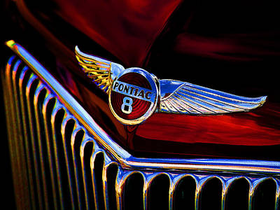 Automotive Digital Art - Red Wings by Douglas Pittman