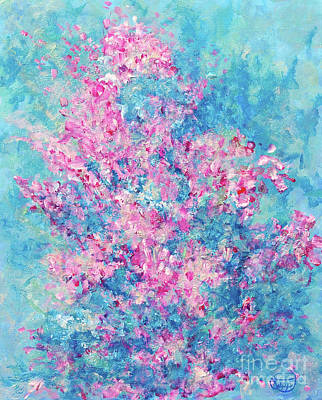 Painting - Redbud Special by Nancy Cupp